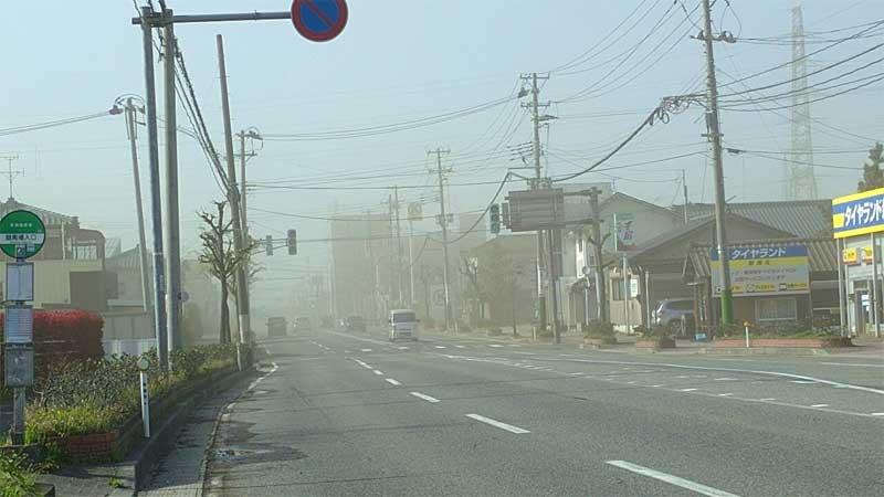 新潟市 暴風 砂嵐