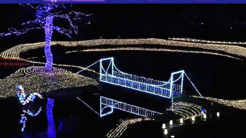 アパリゾート上越妙高イルミネーション2016 橋