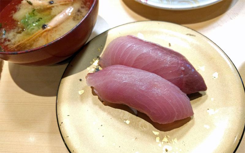 佐渡廻転寿司-弁慶-寒ブリ