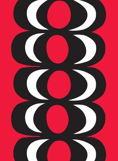 ファブリック≪カイヴォ≫(泉)、図案デザイン:マイヤ・イソラ、1964年