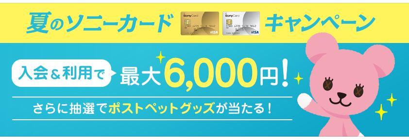 ソニー銀行キャンペーン ソニーカード