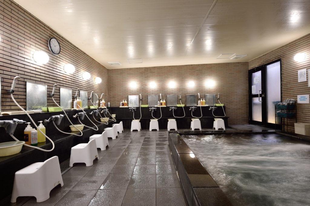 リードイン大森 大浴場