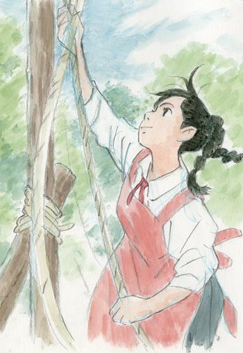 「コクリコ坂から」イメージボード 2011年 © 2011 高橋千鶴・佐山哲郎・Studio Ghibli・NDHDMT