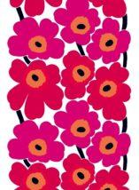 ファブリック ≪ウニッコ≫(ケシの花)、図案デザイン:マイヤ・イソラ、1964年